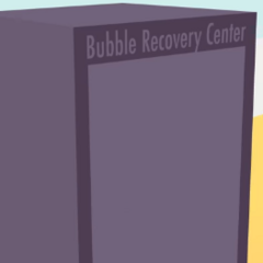 The Bubble Recovery Center shown in <a href=
