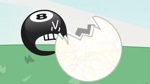 8-Ball eats a Jawbreaker