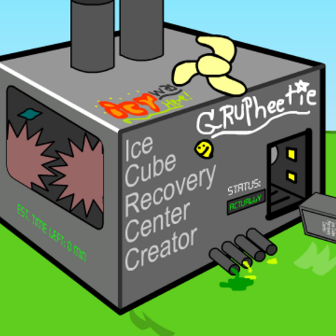 The Ice Cube recovery center exiting the Ice Cube Recovery Center Creator in <a href=
