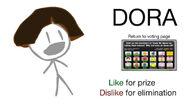 Vote for Dora BFDIA 2