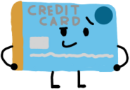 Credit Card AnonymousUser