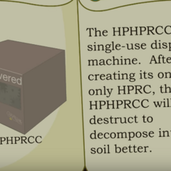 The instruction manual of the HPRC.