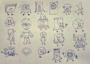 YTP drew 20 OCs (Sketch)