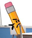 Pencil is. UPSET
