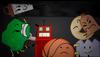 Saw tree roboty basketball donut bell n gaty