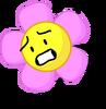 Flower scared