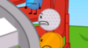 The Glistening BFDI Golf Ball