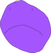 Purple Face Frown Talk 1