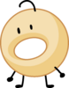 Donut eyebrow raised