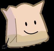 Better New Barf Bag Pose