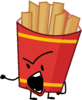 Fries Talking to Foldy (BFB 12)