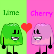 Lime ❤ Cherry