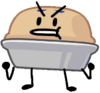 Pie very angry