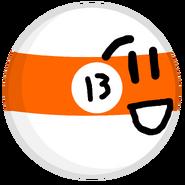 13-Ball pose
