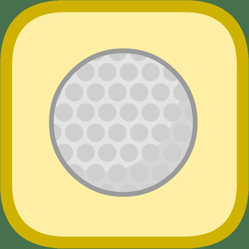 Golf Ball Cube