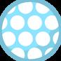 6b bluespottyball
