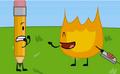 Firey kills bubble