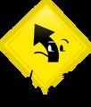EW Road Sign Pose