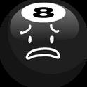 8-Ball Sad Transparent