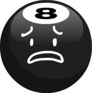 8-Ball Sad Transparent