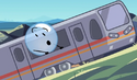Bubble riding on the train (BFB 21)