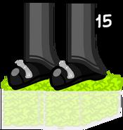 Foot lettuce's body
