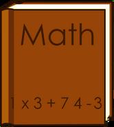 Math book New body