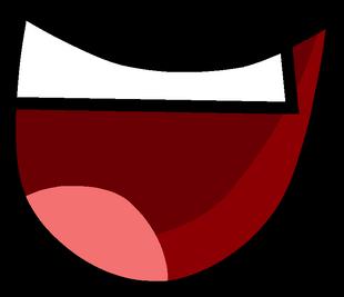 Custom smile mouth open