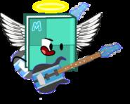 Minh playing guitar