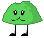 Cute Green Rocky
