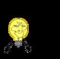 Lightbulb is not amused