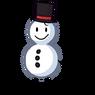 Snowman (No nose, one arm)