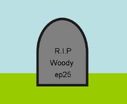 Woody die