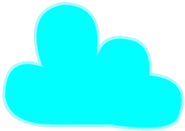 Sky Blue Cloudy Icon