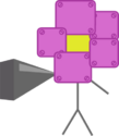 Robot Flower Pointing
