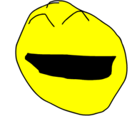 Yellow Face Smile 2 CRAZY