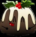 Christmas Pudding Pose