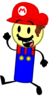 Object Palace Mario pose