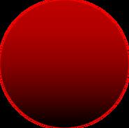 Dark Red Ball Asset