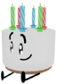 3D Pose of Mini Cake