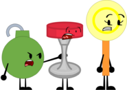 Slime bomb stool and lemon lollipop by tylerthemoviemaker6-dcfyxrw