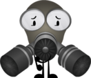 New Gas Mask Pose