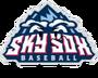 Sky Sox Logo Pose