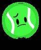 Tennis Ball Poster Pose