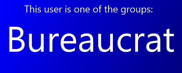 Wiki Template- Bureaucrat1