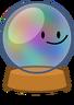 Crystal bally icon pose