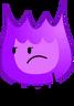 Purple Firey Pose