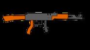 Unamused gun