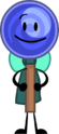 Blueberry Lollipop