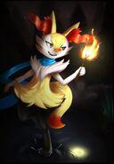 Pokemon braixen by jacya-d7ppdsz
